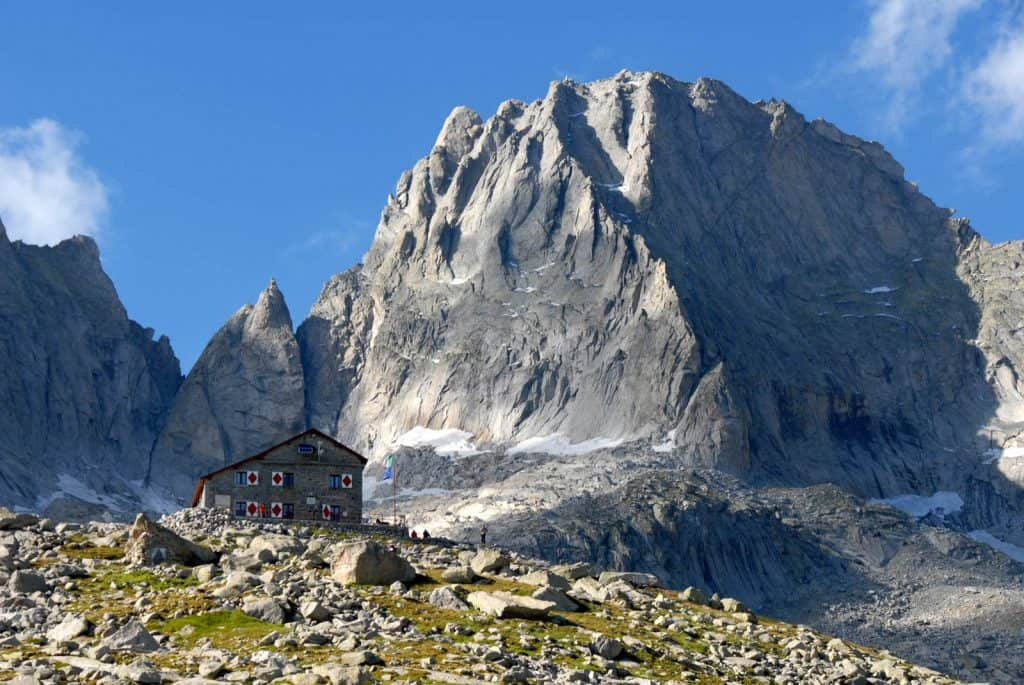 Pizzo Badile and Capanna Giannetti - Val Masino - Italy