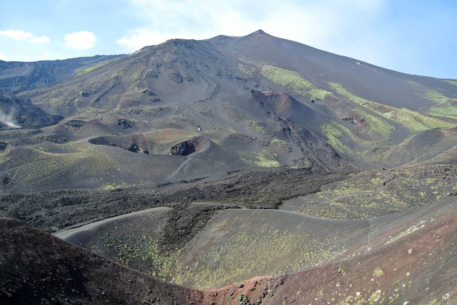 Southern Flank of Mount Etna, Sicily, Italy