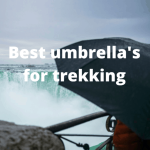 best umbrellas for trekking