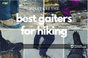 best hiking gaiters